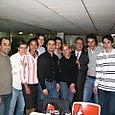 Jacques Kossowski avec les jeunes