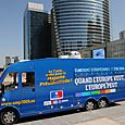 La Caravane UMP fait escale à La Défense