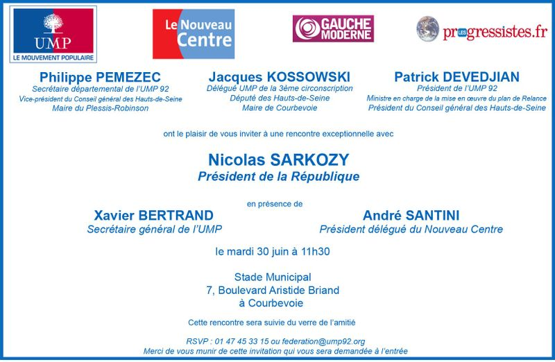 Invitation 30 juin 2009-2