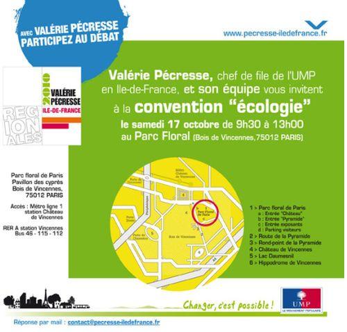 Convention écologie 17-10-2009