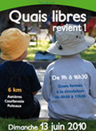 Quais libres Courbevoie