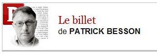 Le billet de Patrick Besson