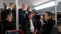 MonCourbevoie - Nicolas Sarkozy La Défense Transports RER A 1