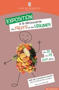 AFFICHE expo fruits legumes
