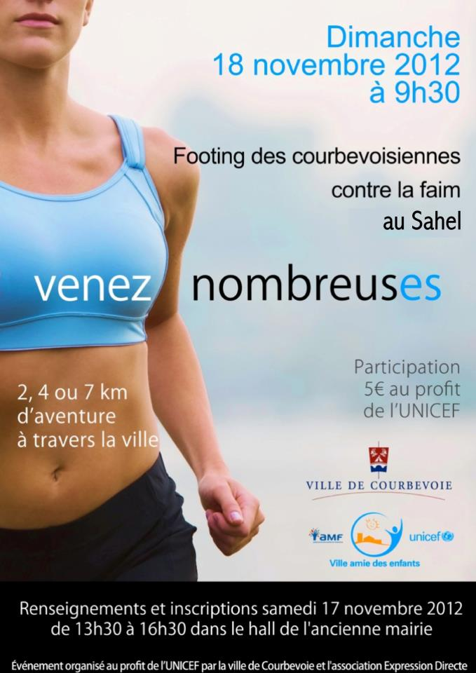 Footing UNICEF Courbevoie