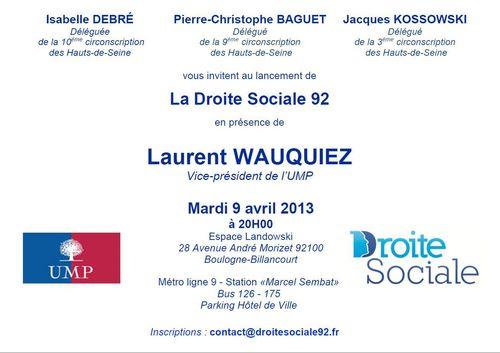 Droite Sociale 92 - 09-04-2013