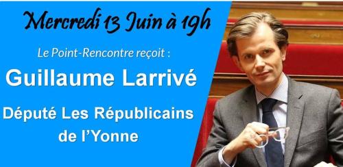 Point-Rencontre avec Guillaume Larrivé
