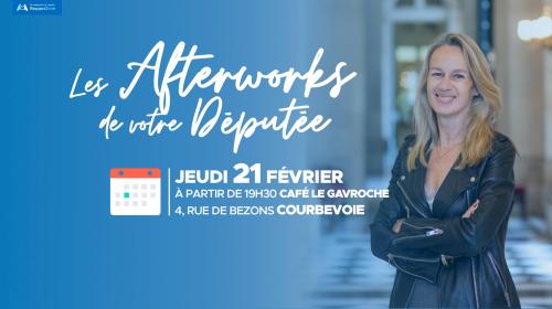 Afterwork Constance Le Grip 21 février 2019